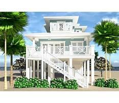 Small beach house plans narrow lot Video