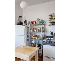 Small kitchen cabinets for storage Video