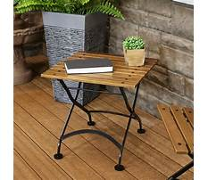 Small outdoor end tables Video