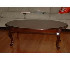 Small oval coffee tables wood Video