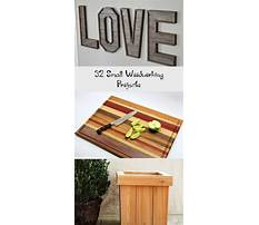 Small projects to build with wood Video