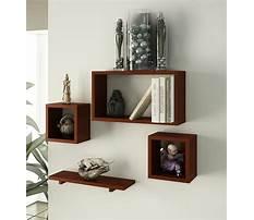 Small wood wall shelf Video