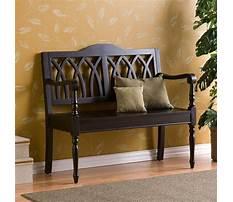 Small wooden bench indoor Video