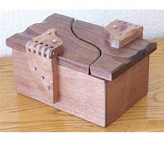 Small wooden box project plans Video