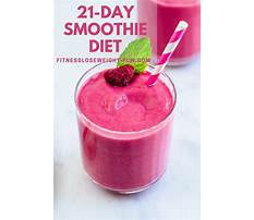 Smoothie diet plan weight loss uk Video