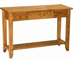 Sofa tables amish Video