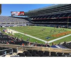 Soldier field seating chart media deck Video