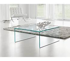 Square lucite coffee tables Video