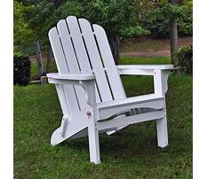 Stackable adirondack chairs Video