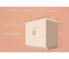 Standard base cabinet sizes Video