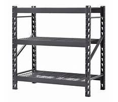 Steel shelves for the garage Video
