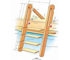 Step ladder plans woodwork Video