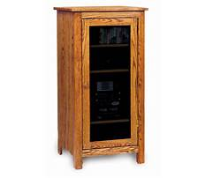 Stereo cabinets wood Video