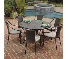 Stone garden bench and table Video