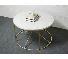 Stone quartz or marble coffee and end tables Video