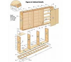Storage cabinet plans free Video