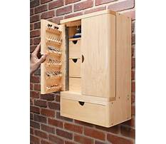 Storage cabinet plans woodworking Video