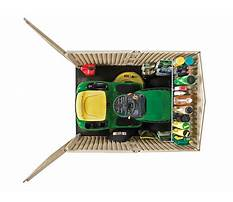 Storage shed for riding lawn mower.aspx Video