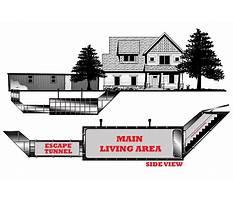 Storm shelter plans underground Video