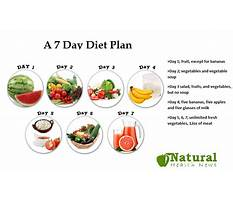 Strict fruit and vegetable diet plan Video