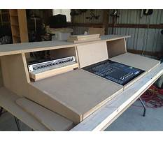 Studio desk diy plans Video