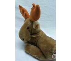 Stuffed moose toy pattern Video