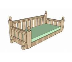 Swing bed building plans Video