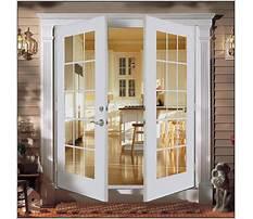 Swing patio doors screens Video