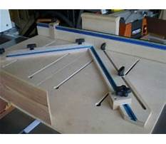 Table saw accessories plans.aspx Video