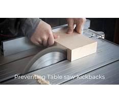 Table saw kickback.aspx Video