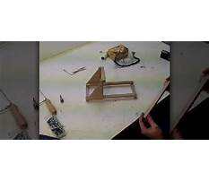 Tabletop catapult Video