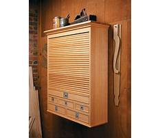 Tambour tool cabinet plans Video