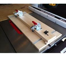 Tapering jig table saw plans Video