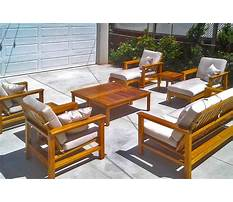 Teak patio furniture on sale Video