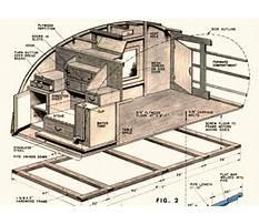 Teardrop camper trailer plans how to build Video