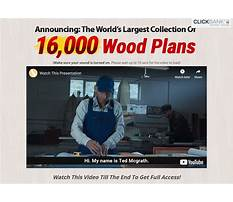 Teds woodworking money back Video