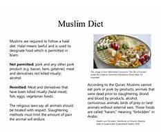 Tenets of islam diet Video
