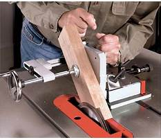 Tenon jig for table saw Video