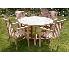 Terrace table and chairs for your home Video
