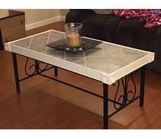Tile coffee table ideas Video