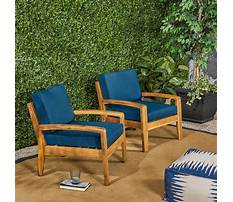 Timber deck chairs Video