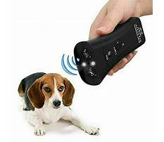 To stop dogs barking devices Video