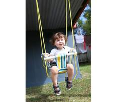 Toddler swing diy Video