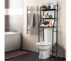 Toilet bathroom rack Video