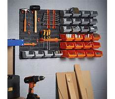 Tool rack wall mounted Video