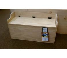 Toy box woodworking plans Video