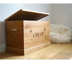 Toy boxes wooden uk Video