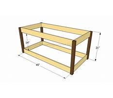 Toy organizer building plans Video