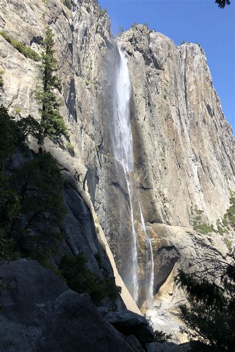Trail Hiking Upper Yosemite Falls