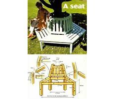 Tree bench plans Video